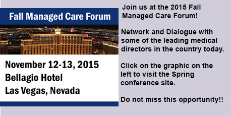 2015 Fall Managed Care Forum